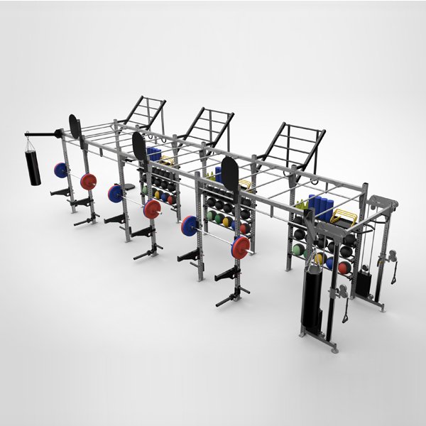 FT9030(3+1)_SELF SUPPORTED MODULAR RIG SYSTEM,Commercial &Home Functional training,Triumph Fitness LLC