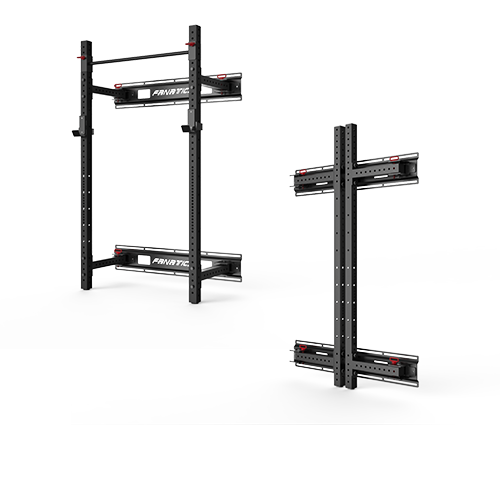 FT7003-FOLD BACK WALL MOUNT RACK,Commercial &Home Functional training,Triumph Fitness LLC